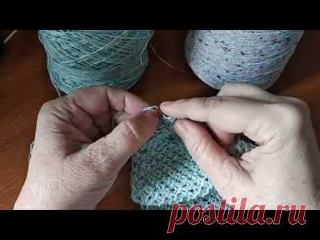 О вязании, пряжных миксах, простых и сложных узорах