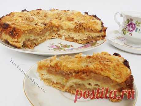 Сухой пирог с яблоками и манкой - пошаговый рецепт. Как испечь, приготовить яблочный пирог в духовке. Рецепт пирога с яблоками самый простой и вкусный