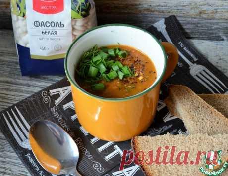 Суп-гуляш с белой фасолью – кулинарный рецепт