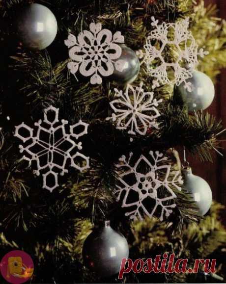 Снежинки к новому году — Сделай сам, идеи для творчества - DIY Ideas