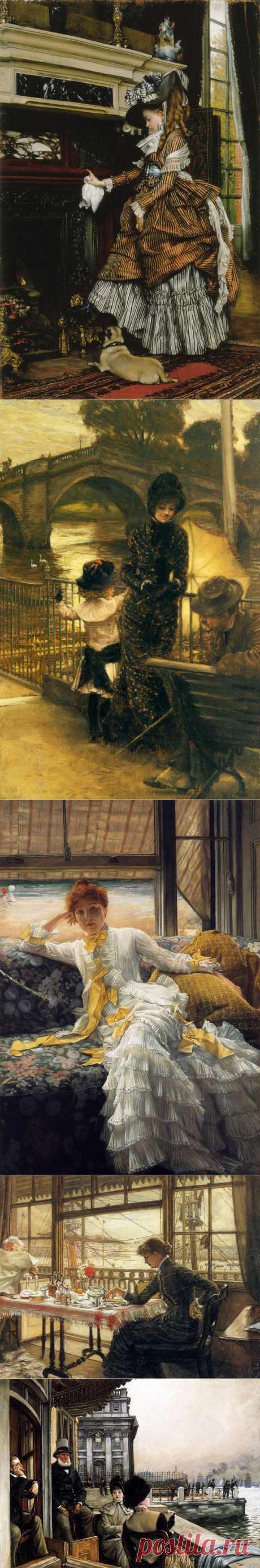 Французский художник, работал в Англии - Джеймс Тиссо (1836-1902)