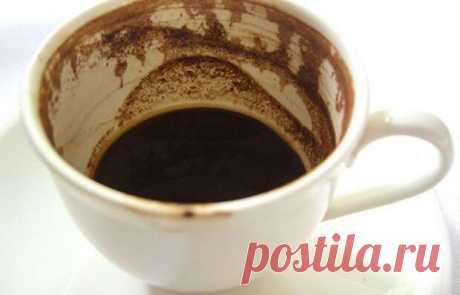 Как использовать кофейную гущу