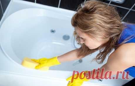 Уход за ванной. Чем чистить ванну из разных материалов.