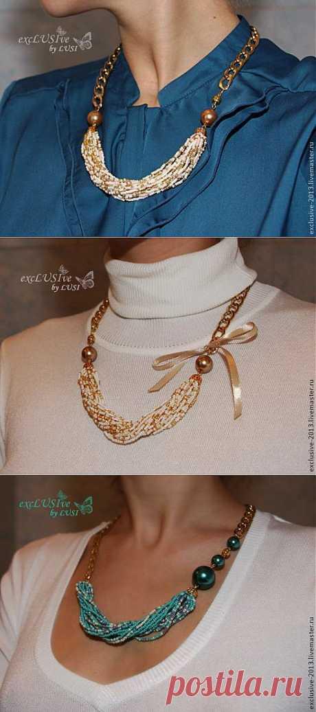 Модное ожерелье за час! - Создание бижутерии