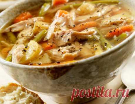 Рецепт супа с сельдереем, фото - Рецепты