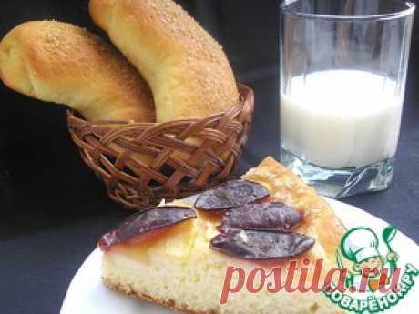 Воздушные булочки со сметанной начинкой (тесто на сливках) - кулинарный рецепт