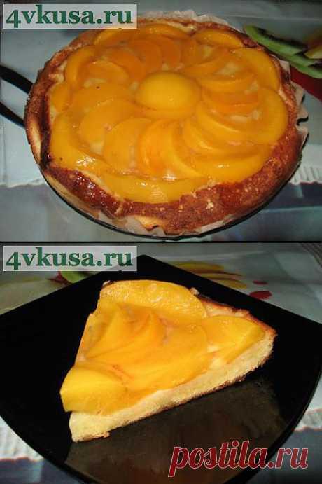 Торт-пирог Персиковый. Фоторецепт. | 4vkusa.ru