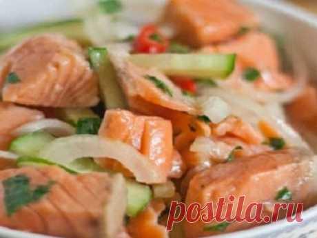 Салат из рыбы по-корейски — vkusno.co