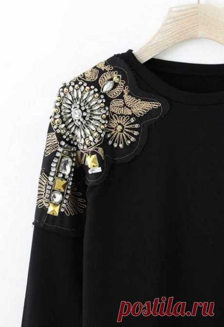 Вышивка на одежде: как превратить старые вещи в эксклюзивные
