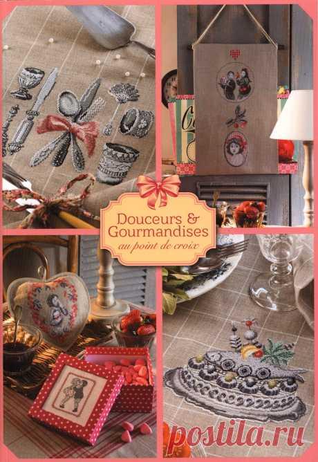 Hors-serie: Douceurs & Gourmandises au Point de Croix 2019.