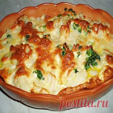 Gentle vegetable marrow casserole