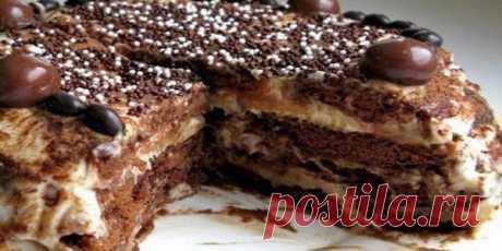 ¡La torta de los melindres sin cocción — es sabroso antes de la pérdida de la conciencia!