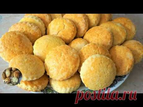 Простое домашнее Сметанное печенье,советские рецепты/Sour Cream Cookies