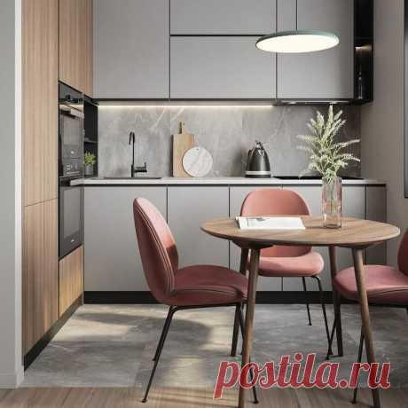 7 идей с фото, как оформить обеденную зону на маленькой кухне - Я Покупаю