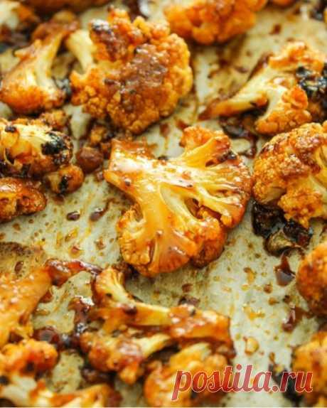 Цветная капуста в остро-сладком соусе — Sloosh – кулинарные рецепты