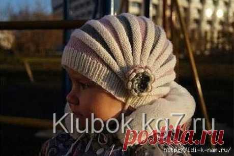 Интересный вариант вязания шапочки