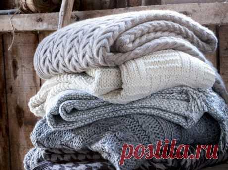 Как придать форму вязаному изделию?