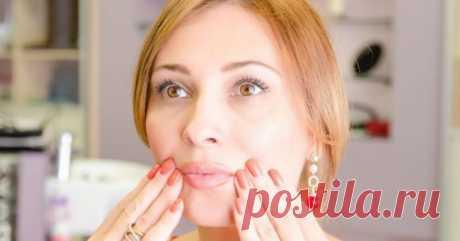 Упражнение «Ластик»: стираем складки «скорби» с лица! — Простые советы