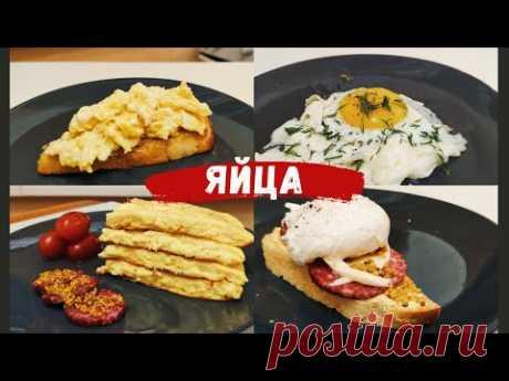 Рецепты из яиц на все случаи жизни (омлет, пашот, глазунья, scrambled eggs)