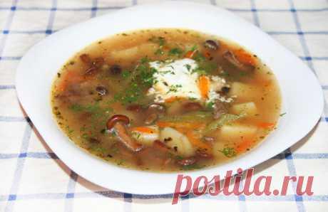 Суп с опятами | Поварёшки