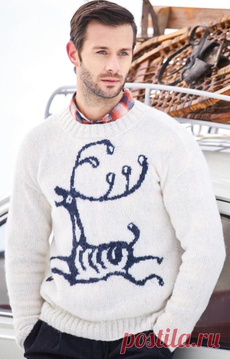 Вязаный свитер Rein | ДОМОСЕДКА