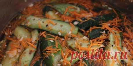 Огурцы по-корейски : Овощные блюда : Кулинария : Subscribe.Ru