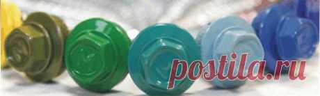Комплектующие для профнастила уплотнитель саморезы балончики для подкраски