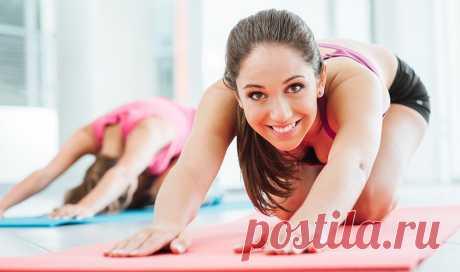 Комплекс упражнений на растяжку | Краше Всех