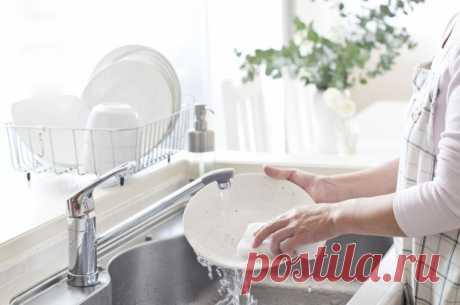 Секреты быстрого мытья посуды