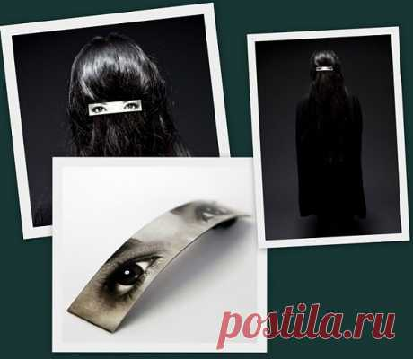 Creative burqa on the contrary \/ Jewelry for hair \/ Second Street