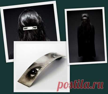 La paranjá creativa al contrario \/ Adornamientos para los cabellos \/ la SEGUNDA CALLE