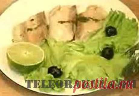 Белая рыба под лимонным соусом (рецепты: Званый ужин) - рецепты с фото