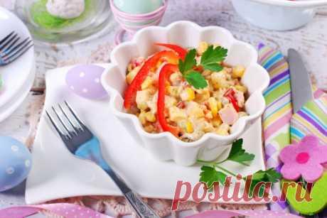 Пасхальный стол: ТОП-5 рецептов праздничных салатов - Кулинарные советы для любителей готовить вкусно - Хозяйке на заметку - Кулинария - IVONA - bigmir)net - IVONA bigmir)net
