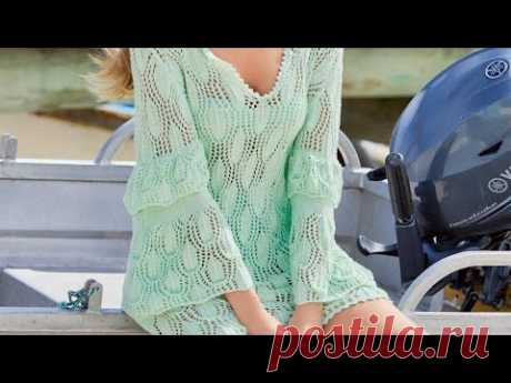 Women's knitted patterns for the summer season