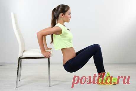 Эти упражнения нужно выполнять, чтобы роскошно выглядеть обнаженной