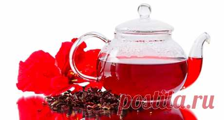 Чай каркаде и его влияние на здоровье