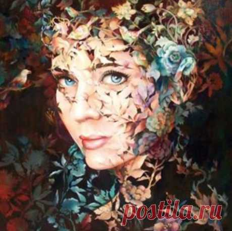 Живопись - это поэзия, которую видят Оксана Белинская