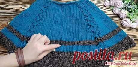 Имитация наружного шва спицами - Вязание - Страна Мам