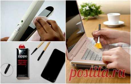 16 простых способов эффективной чистки бытовой техники и гаджетов      Простые советы по уходе и чистке гаджетов. Даже самые чистые руки всегда грязные. Сложно в это поверить? Тогда посмотрите на свой смартфон, компьютерную мышь, клавиатуру и другие подобные устройс…