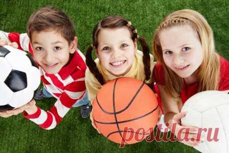Спорт для детей | Я- Милочка