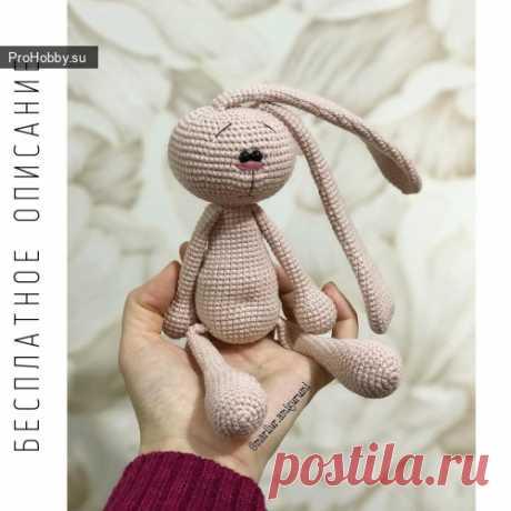 Зайка амигуруми / Вязание игрушек / ProHobby.su | Вязание игрушек спицами и крючком для начинающих, мастер классы, схемы вязания