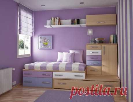 Орагнизация пространства маленьких комнат