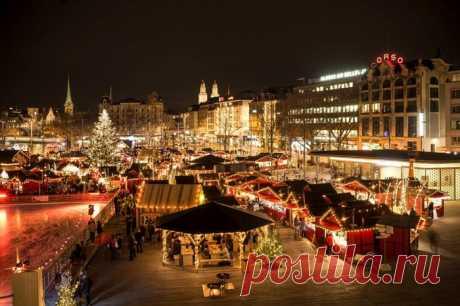 Швейцария новогодняя