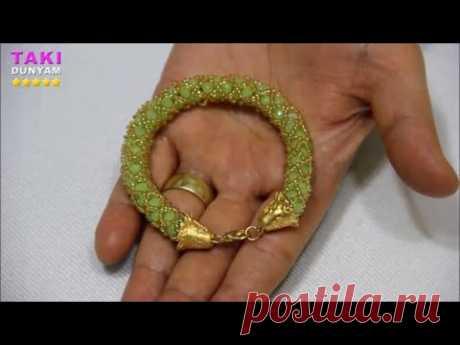 Takı Tasarımı- En Kolay Spiral Bileklik Nasıl Yapılır?-DIY-Öğretici Video(DETAYLI VE SESLİ ANLATIM)