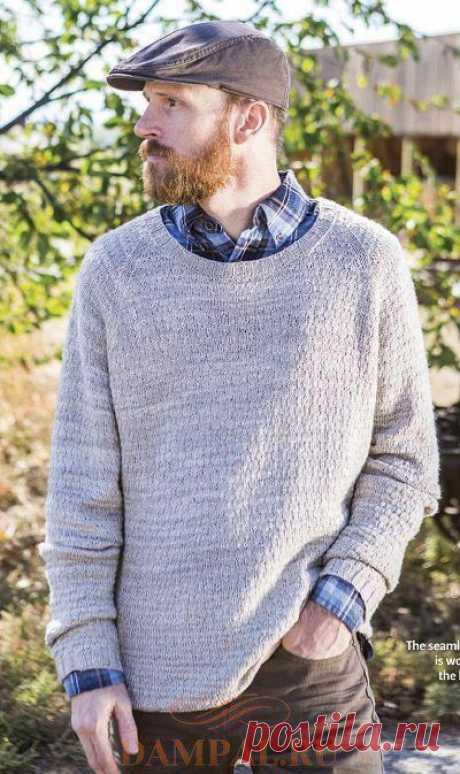 Мужской пуловер «Silhouette Base Layer»   DAMские PALьчики. ru