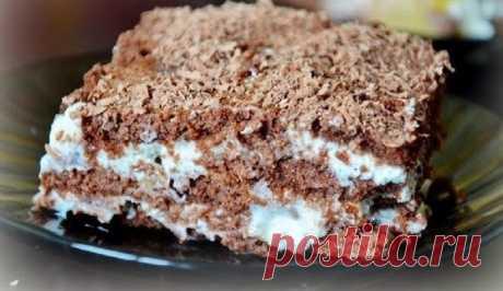 Торты из печенья, обалденные рецепты