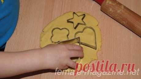 Печенье для детей из кукурузной муки с