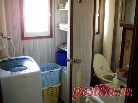 Японские приспособления для ванной комнаты | Наши дома