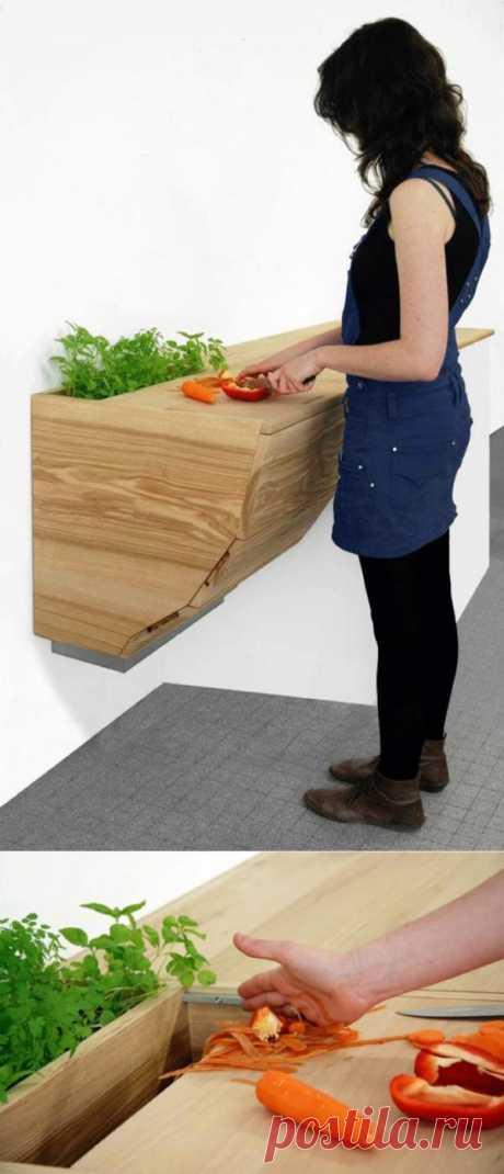 Кухонная столешница. 14 оригинальных рабочих поверхностей, которые сделают любую кухню неповторимой – Журнал – His.ua