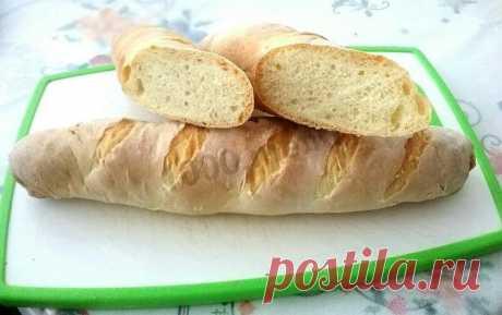 Французский багет на сыворотке рецепт с фото пошагово - 1000.menu